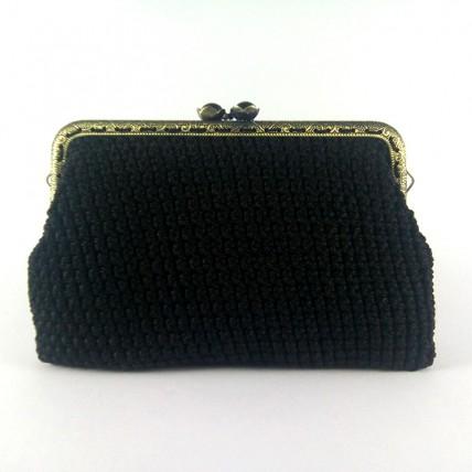 Πορτοφόλι Υβόννη Μαύρο