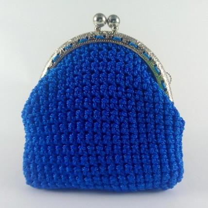 Λόρα Μπλε Πορτοφόλι