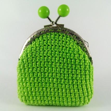 Σίλβα Πράσινο - Πλεκτό Πορτοφόλι