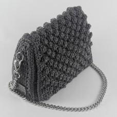 Τσάντα ώμου Αριάδνη Γκρι