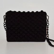 Τσάντα ώμου Αριάδνη Μαύρη