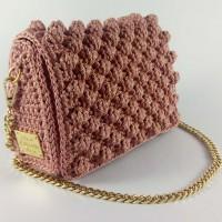 Τσάντα Ίριδα Ροζ